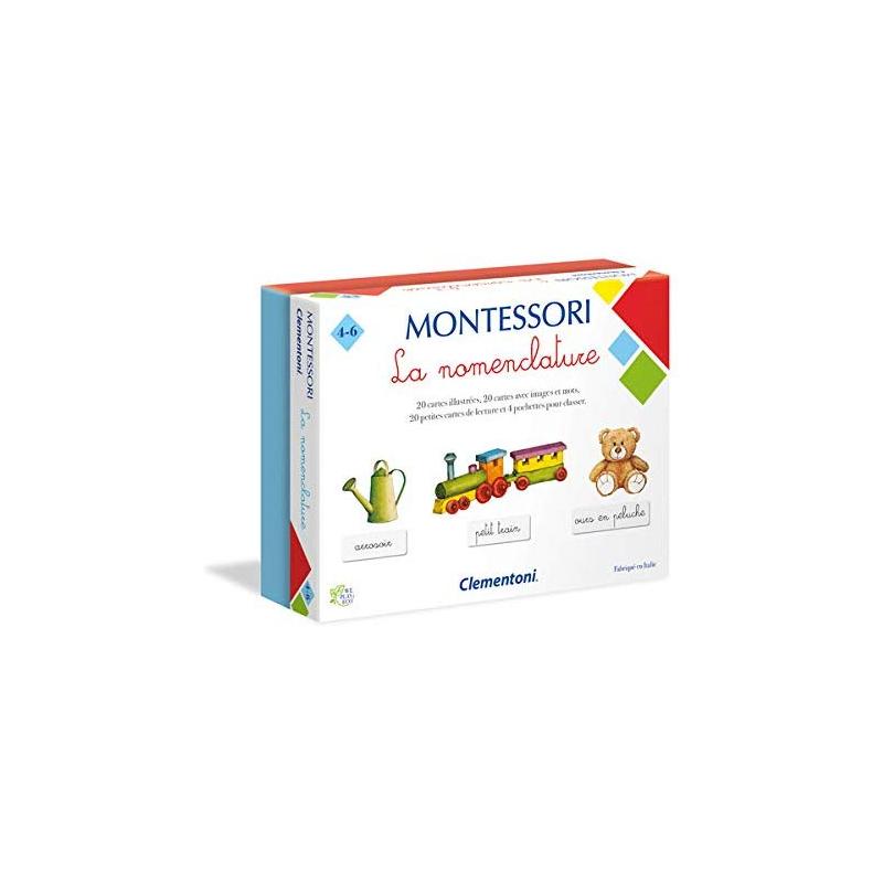 Clementoni - Montessori Les Nomenclatures