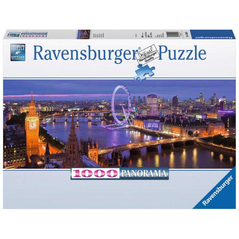 Ravensburger - Puzzle Londres De Nuit Panorama 1000 Pieces